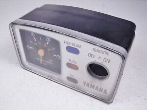 80 Yamaha LC50 LC 50 Champ Speedometer MPH Odometer Ignition Switch Housing #1