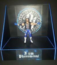 wwe custom made Aj Styles display stand for wrestling figures. no fig included