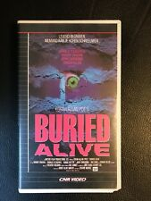 Buried Alive Vintage VHS Tape English Audio With dutch subs Horror