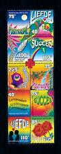 [NA1165] Antilles Antillen 1997 Greeting Love  stamps from booklet Parrots MNH