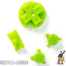 Gameboy Pocket Knöpfe GBP Buttons Game Boy Tasten Pads green Button Knopf Grün