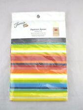 Fiesta Apron Multi Color Stripe Chef Waist Fashion New Fiestaware 33 x 32