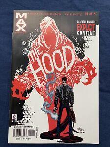 The HOOD #1 VG/NM  1st App Parker Robbins (The Hood) Marvel 2002