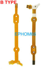 10 PCS Lens Aperture Flex Cable for Sigma 18-125 18-250mm (B TYPE) Canon Connect