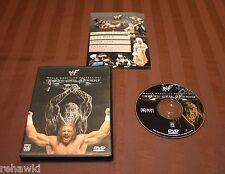 WWF  Backlash 2001 (DVD, 2001) RARE WWE