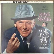 Come Dance With Me! Frank Sinatra Billy May LP Records Vinyl Album SW1069 DS