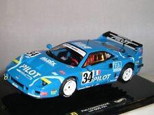 Modellini statici di auto da corsa blu per Ferrari