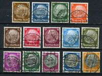 German Reich : Hindenburg set from 1933 - used - good value !