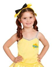 THE WIGGLES - YELLOW EMMA WIGGLE Ballet Costume Top Size 3-5 or 1-3 NEW LICENSED