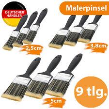Malerpinsel Maler Pinsel Set Flachpinsel Lack Lackpinsel Pinselset Lasurpinsel