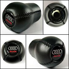 AUDI 80 B4 B3 90 B2 gris Stitch Cuir Noir bouton stick gear gaiter nouvelle couverture