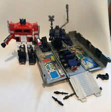 Vintage G1 Transformer Optimus Prime With Accessories