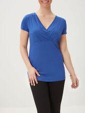 Mama-licious Short Sleeve Maternity Nursing Tops