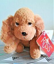"Daisy Abbey Cute Dog Russ 6"" Soft Toy Plush Beanie Floppy Comforter TAGS EXC"