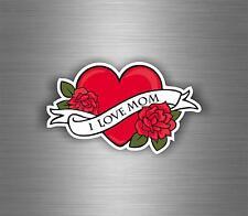 Sticker adesivo adesivi auto tuning auto moto i love mom tattoo tribale r1