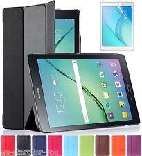 "Samsung Galaxy Tab A 9.7"" SM-T550/T555 Schutz Hülle+Folie Tasche Cover Case 9-F"