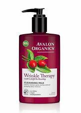 Avalon Organics Ride Thérapie Avec CoQ10 & Cynorrhodon Démaquillage Lait