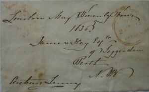 Free Front: 1836 to Perth from Lord Arthur Lennox.