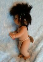 Val Shelton vinyl native American Indian boy doll PRICE DROP -$10