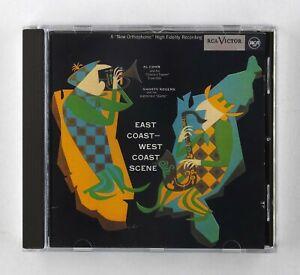 Al Cohn + Shorty Rogers – East Coast West Coast Scene - CD Album - ND 74404