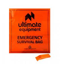 Ultimate Equipment Survival Bag with Whistle - Bivi Bag Emergency Walking Hiking