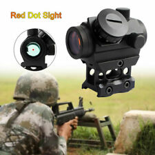 Tactical Increased Red Dot Sight Gun Rifle Mini Scope Mount with Lifting Bracket