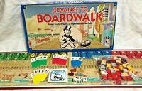 Advance to Boardwalk Board Game Parker Brothers 1985 Vintage Complete