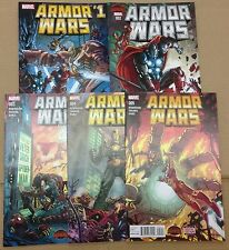 Armor Wars 1 2 3 4 5 Marvel Secret Wars Lot of 5 books Iron Man