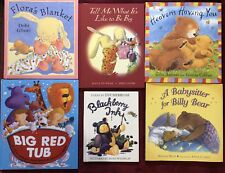 Children's Hardcover Bears, Bunnies and Lions Book Lot (6) - LN - Free Shipping