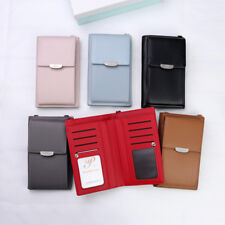 Women Small Wallet Purse Leather Coin Cell Phone Mini Cross-body Bag Handbag US