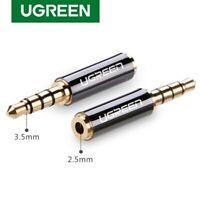 UGREEN 2.5mm Female to 3.5mm Male Stereo Audio Headphone Jack Adapter Converter