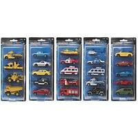 Teamsterz Street Machines Diecast Free Wheeling Vehicles assortment 5 Pack