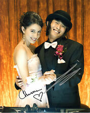 CHRISTIAN SERRATOS & JUSTINE TONG HANDSIGNED 10 X 8 COLOUR PHOTOGRAPH (a)