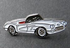 CHEVROLET CHEVY CORVETTE 1959 CONVERTIBLE LAPEL PIN BADGE 7/8 INCH