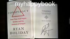 SIGNED Conspiracy by Ryan Holiday, autographed, new