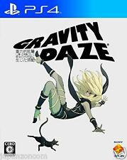 Used PS4 Gravity Daze   SONY PLAYSTATION 4  JAPANESE  IMPORT