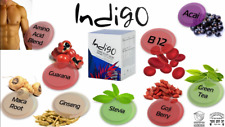 INDIGO Natural  Energy Drink Blend Amino Acid Powerful Fitness Weight Loss