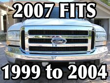 F-250 FORD F-250 F350 F-450 GRILL CONVERSION FITS 1999-2004 AND EXCURSION