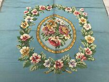 Jacquard woven antique silk panel, 70cm x 67cmIn excellent condition