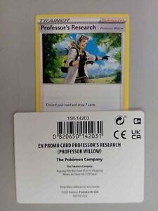Pokemon Professor's Research Professor Willow Promo CODE ONLY Pokemon GO