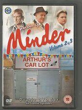 The Best Of MINDER - Volume 2 of 3 - UK R2 DVD (2-DISC SET) - 6 CLASSIC EPISODES