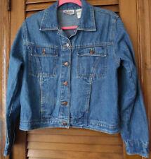 Bill Blass Neat Cotton Jacket With Four Pockets & Copper Buttons Size Medium