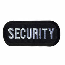 Embroidered Security Sew or Iron on Patch Biker Patch