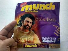 Empty Wrapper Nestle Munch Prabhas Bahubali Baahubali star -picture on wrapper