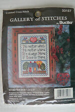 """Bucilla New in Pkg Counted Cross Stitch Kit NO MATTER WHAT 7'x5"""""""