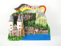 Heidelberg Imán Viajes Recuerdo Germany,Heiliggeistkirche,Candado