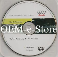 2008 Audi A4 A3 TT & R8 Quattro / Coupe RNS-E Navigation Plus DVD Map U.S Canada