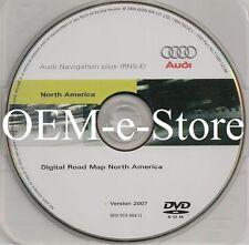 2008 Audi A4 A3 TT & R8 Quattro / Coupe RNS-E Navigation Plus DVD Map U.S Canada