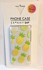 NIB SKINNY SK^NNY DIP Pineapple iPhone 6, 6s, 7 - w/Screen Protector