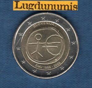 2 Euro Commémo Slovénie 2012 10 Ans de l'Euro SUP SPL Slovenia